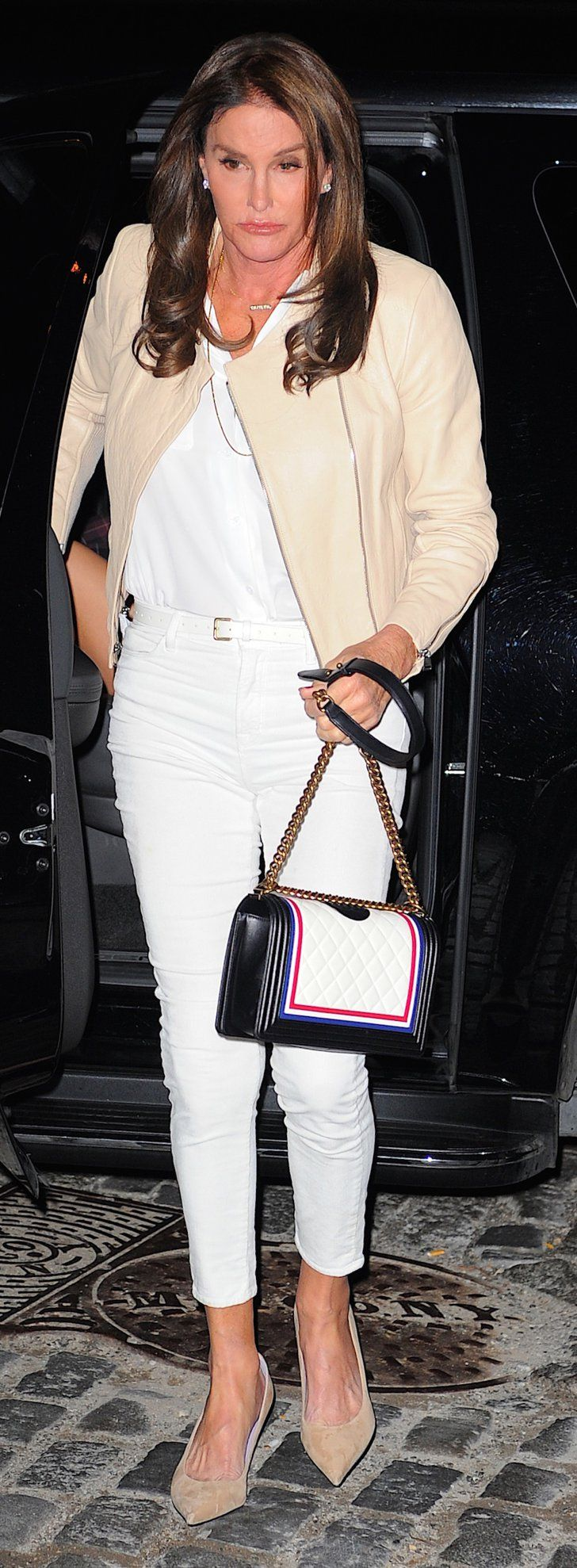 Caitlyn Jenner's Holding Onto the New Chanel Bag of Your Dreams