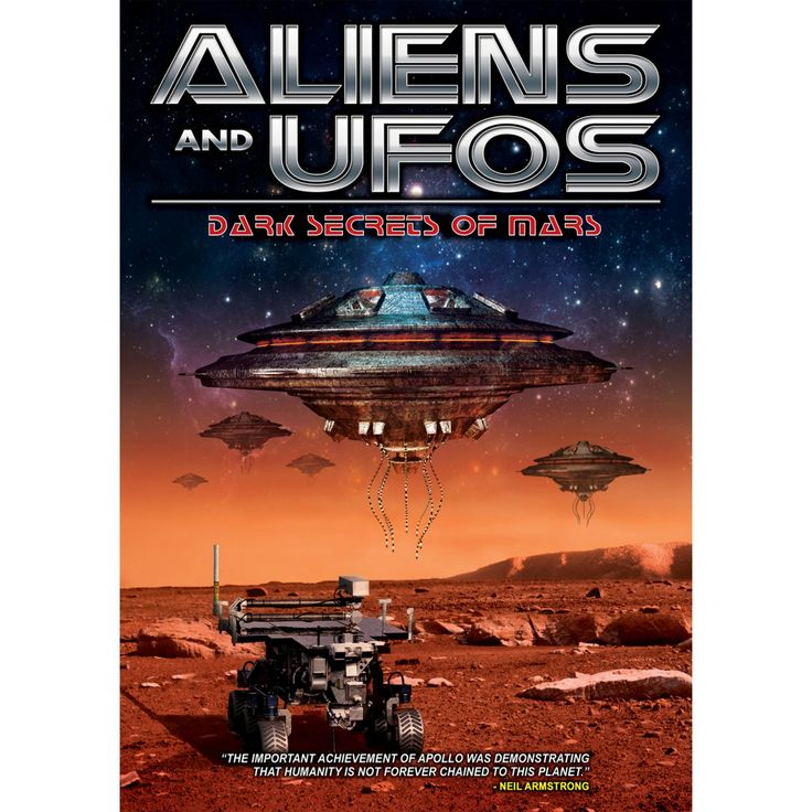 Aliens and ufos:Dark secrets of mars (Dvd)