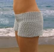 Crochet shorts free pattern with video tutorial