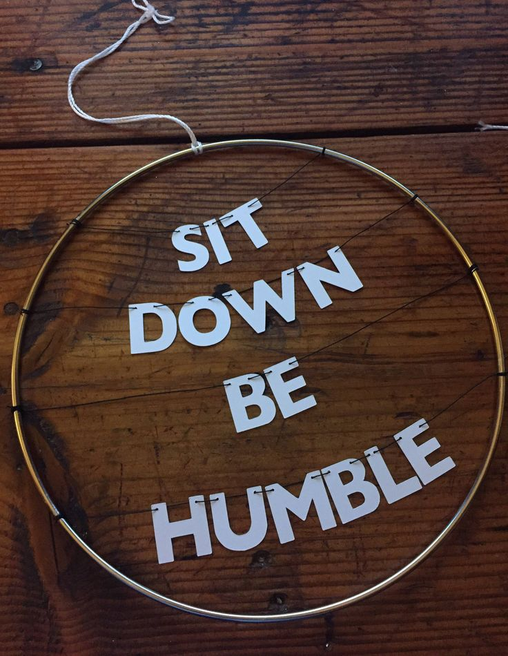 Kendrick Lamar Handmade Silver Metal Wreath Humble Rap Lyrics | Dainty Delicate Letters on Wire | Stay Woke Dorm Office Home Inspiration by OhHowNeatShop on Etsy