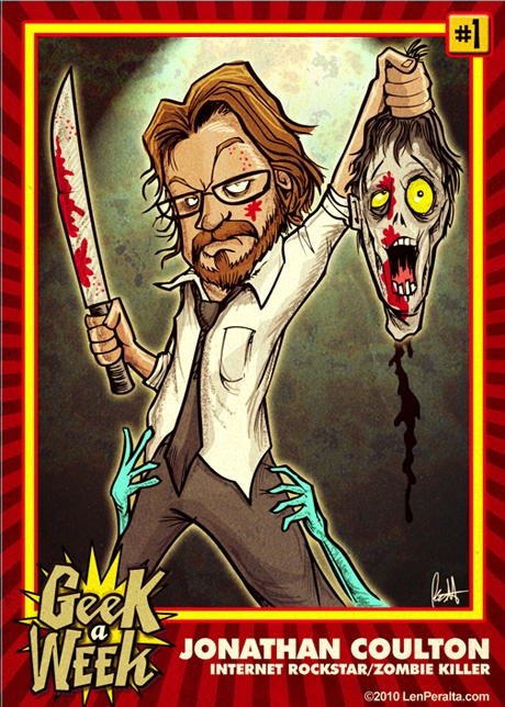 Geek a week trading cards - awesome!: Week Trading, Trading Cards, Funny Strange