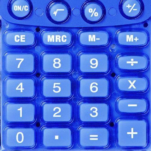 Rebell Starlet napelemes zsebszámológép 8 számjegyes, 3 év garancia! kék színben Ft Ár 1,490
