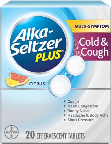 Cold & Cough Citrus Effervescent Tablets