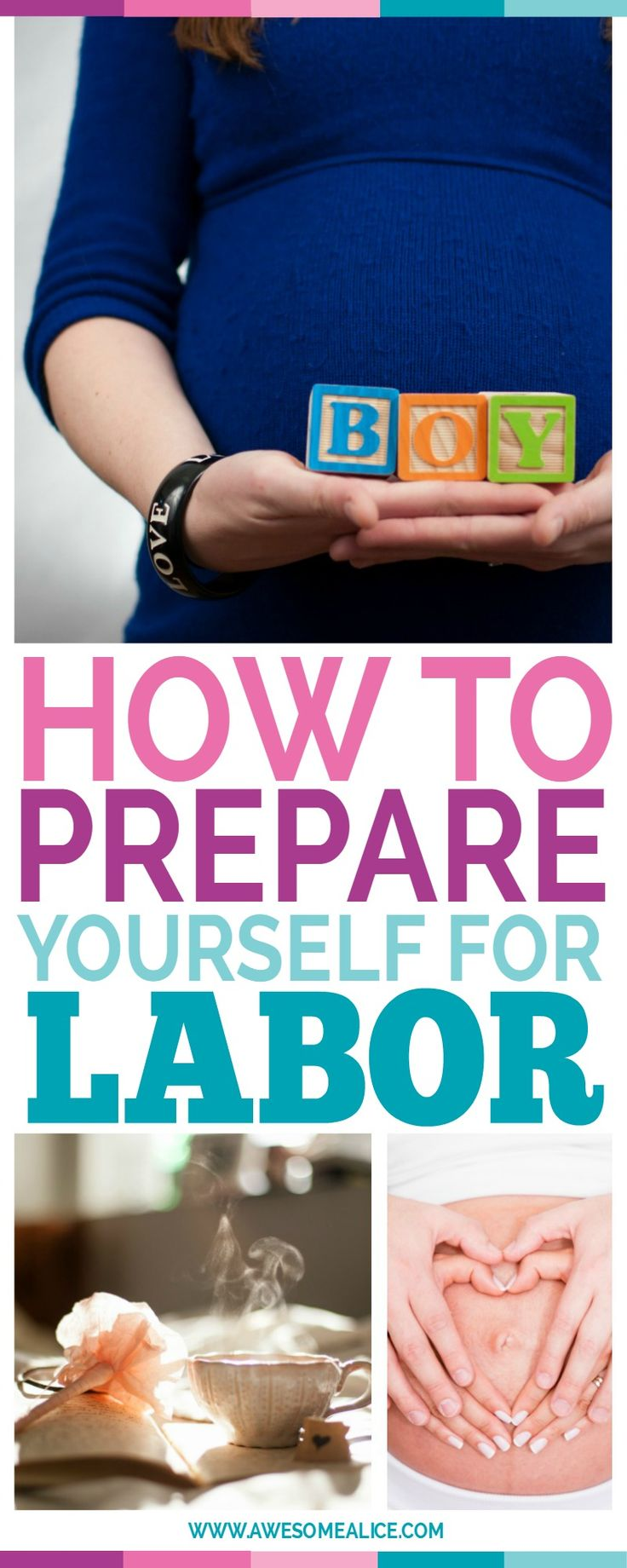 Soon your baby will be here. It's just one itsy bitsy thing that you have to do first: Give birth. Here are 15 tips to prepare yourself for labor: