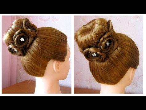 Tuto Coiffure Simple Chignon Bun Cheveux Long Soirée