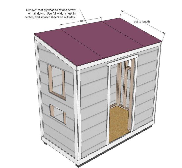 Ana White | Build a Shed Chicken Coop | Free and Easy DIY Project and Furniture Plans