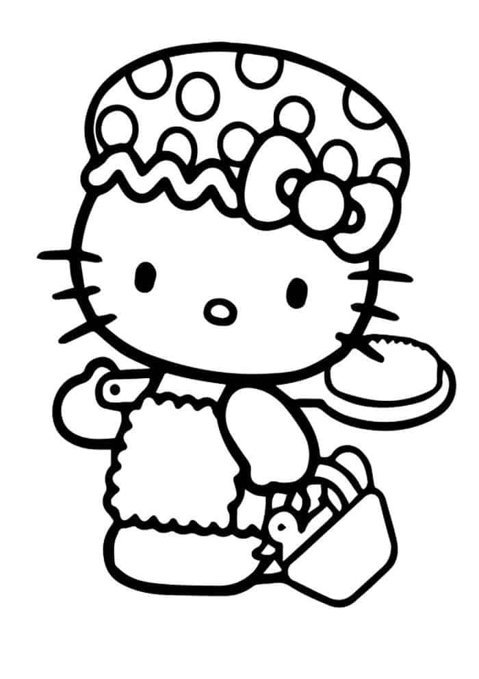 Coloring Pages Of Hello Kitty For Kids Hello Kitty Colouring Pages Hello Kitty Coloring Kitty Coloring