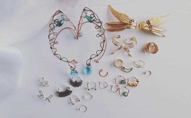 My valkiyrie cuff and more goodies leaving my shop this week! #salmonnaturals #fashionjewelery #jewelrydesigner #toronto #elven #416hustlers #torontoetsystreetteam