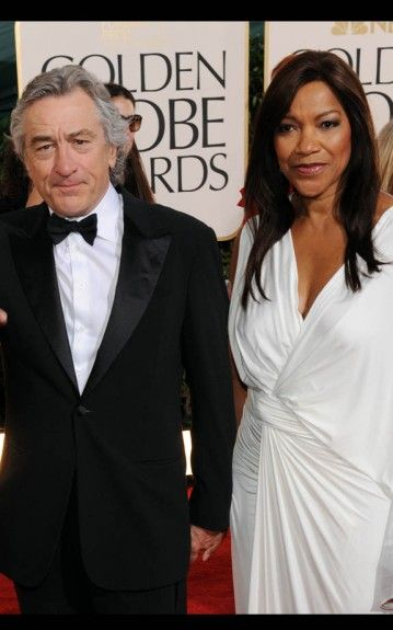 Robert De Niro and Wife Grace. ^ Love me some De Niro! Awesome actor and great taste in women! #reallove