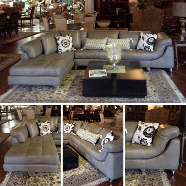 96 Best Gray Leather Sofas Images On Pinterest