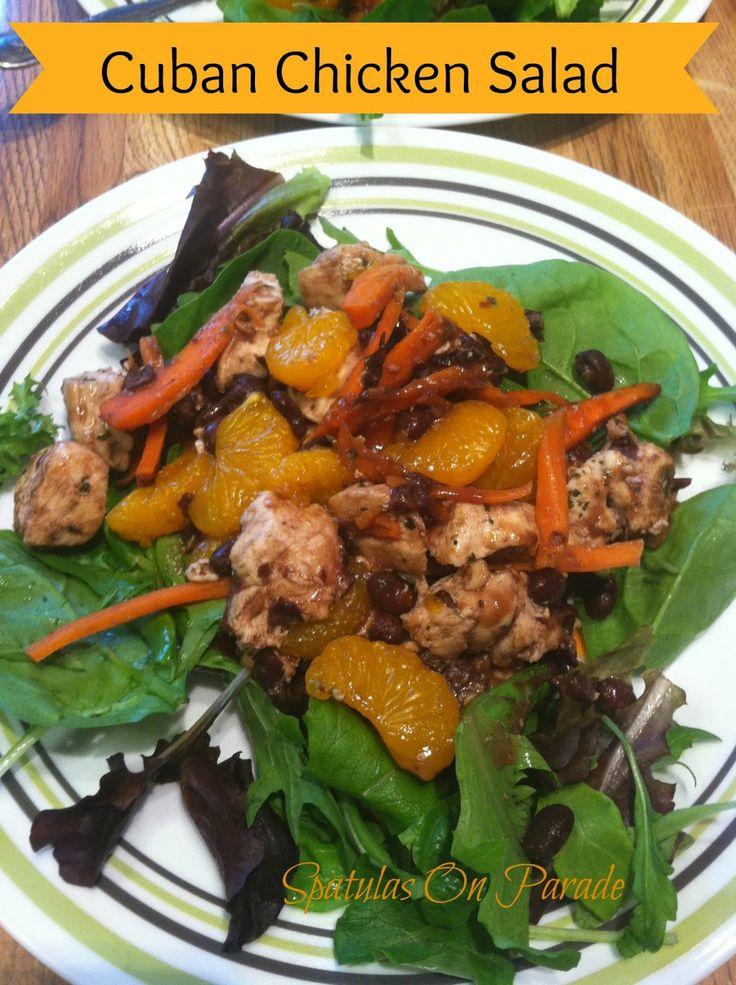 Cuban Chicken Salad | Spatulas On Parade | Pinterest | Chicken salads ...