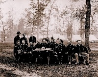 The First Battle of Dalton began February 22nd 1864 in Georgia when Thomas' troops began skirmishing with the Confederates to see if the loss of two divisions made them vulnerable.