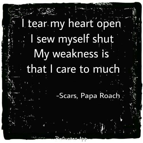 Image Result For I Tear My Heart Open I Sew Myself Shut