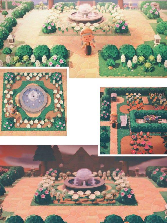 French Inspired Garden : AnimalCrossing | Animal crossing ...