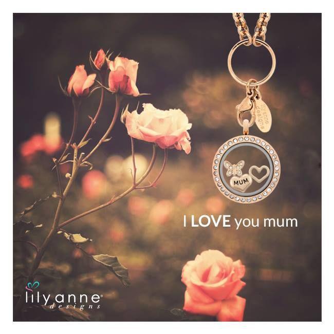 Get mum a Lily Anne Designs® Locket for Mother's Day heart emoticon  www.lilyannedesigns.com.au/moniqueelliott  #LilyAnneDesigns #MothersDay