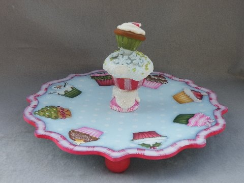 cupcake plate & 38 best Cupcake Plates images on Pinterest | Dishes Dinner plates ...
