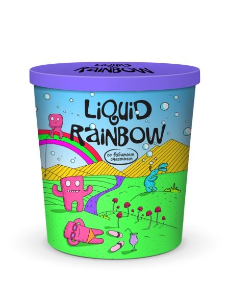 Liquid Rainbow (Concept) on Packaging of the World - Creative Package Design Gallery