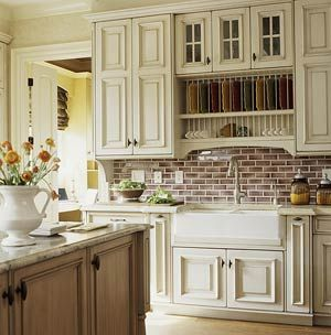 Love country kitchens!