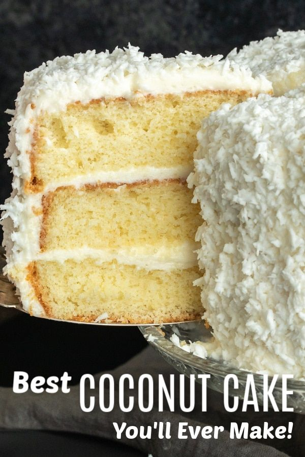 From Easter 2020 With Strawberries One Container For Icing And Cake Just One Box In 2020 Coconut Cake Recipe Best Coconut Cake Recipe Sour Cream Coconut Cake