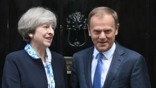 Brexit: Tusk says UK trade deal not a priority  BBC News