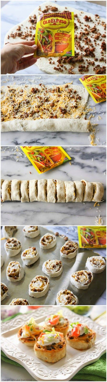 Taco Pizza Rolls | kitchenshares