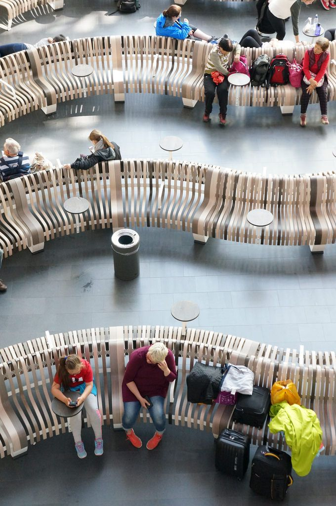 Keflavik International Airport Airport Design Public Seating