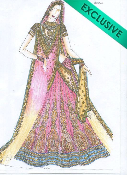 View Sketches Of Dresses Indian Png Antumemne
