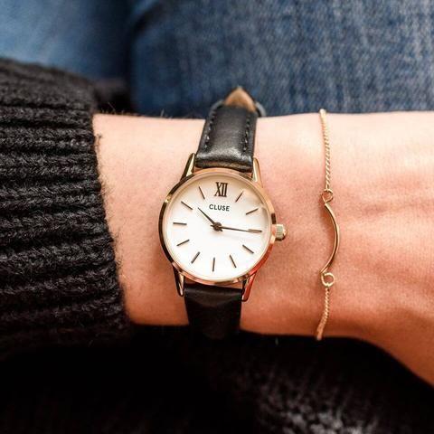 8950238ff Montre CLUSE La Vedette Rose Gold White/Black CL50008 | Elegant Watch |  Vintage watches women, Elegant watches, Bag accessories