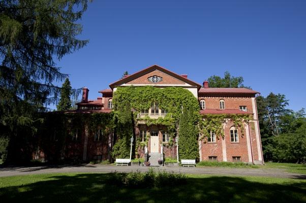 Facade of Katisten Kartano (Katinen Manor), Hämeenlinna, FI