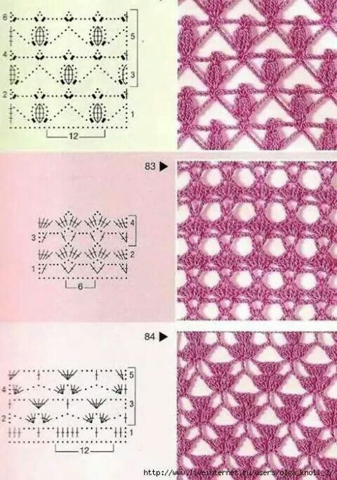 Stitch crochet pattern
