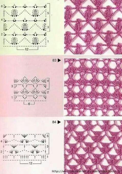 Crochet Stitch Collection - Free Crochet Diagrams - (picasaweb.google)