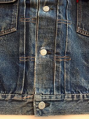 ORIGINAL VINTAGE LEVI'S 507XX 2ND EDITION DENIM JACKET
