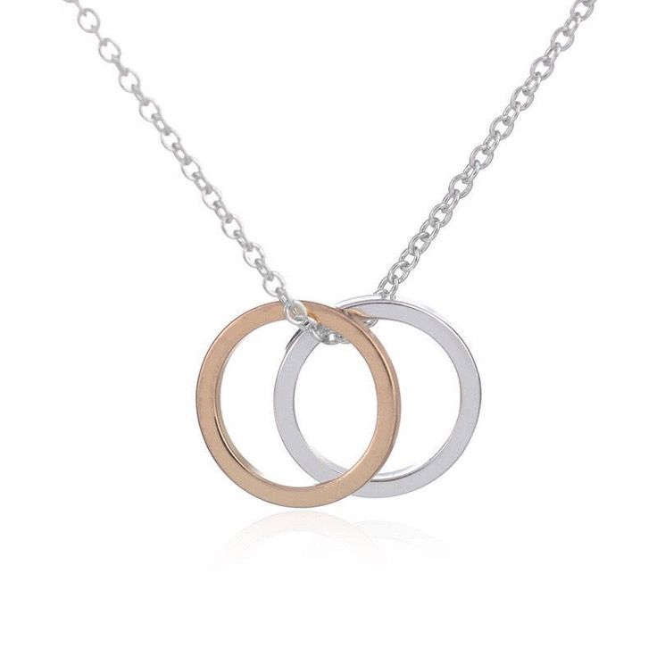 Delicate Circle Necklace, Dainty Jewelry, Couple Necklace, Dainty Necklace, Gift Ideas, Minimalist Necklace, Simple Necklace, Silver, Gold by MissFitBoutiqueCA on Etsy https://www.etsy.com/ca/listing/576581267/delicate-circle-necklace-dainty-jewelry
