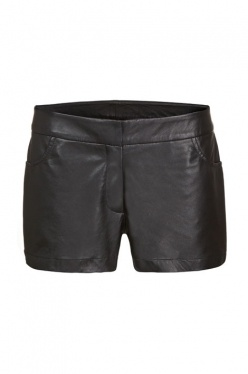 Give off duty outfits a luxe spin with rebecca vallances ss12 leather shorts. Wear with leather sandals and a baggy tee for an effortless daytime approach.  Available at AUDTT.com.au #buyme #shopmywardrobe #forsale #designer #consignment