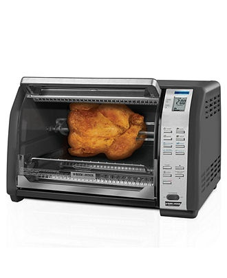 Black & Decker CT07100B Toaster Oven - Toaster Ovens - Kitchen - Macy ...