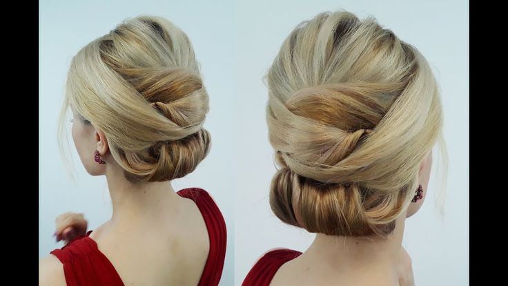 EASY HAIRSTYLE ELEGANT SMOOTH TWISTED BUN | Awesome Hairstyles ✔