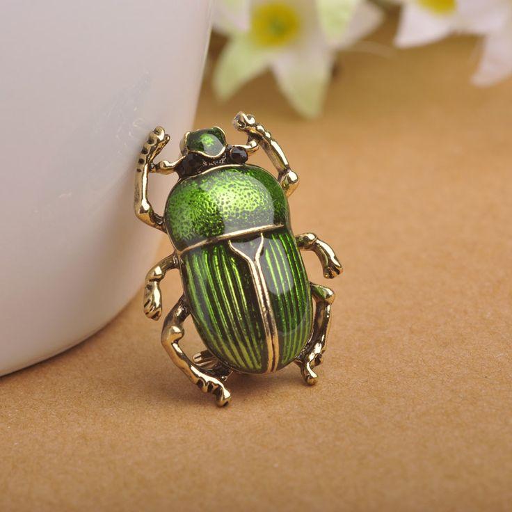 Primavera Insectos Broches para el Sombrero de La Bufanda de Cuello chaqueta de Punto Accesorios de Pintura de Esmalte de Alta Calidad Impresionante Joyería Declaración