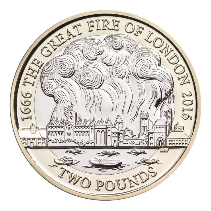 In 2016 we will mark the 350th anniversary of the Great Fire of London on a UK £2 coin.