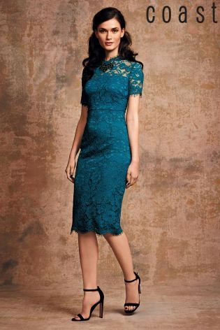 Buy Coast Green Cassia Lace Dress from the Next UK online shop