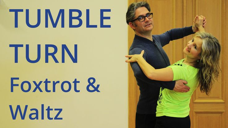 How to Dance Tumble Turn in Foxtrot and Waltz