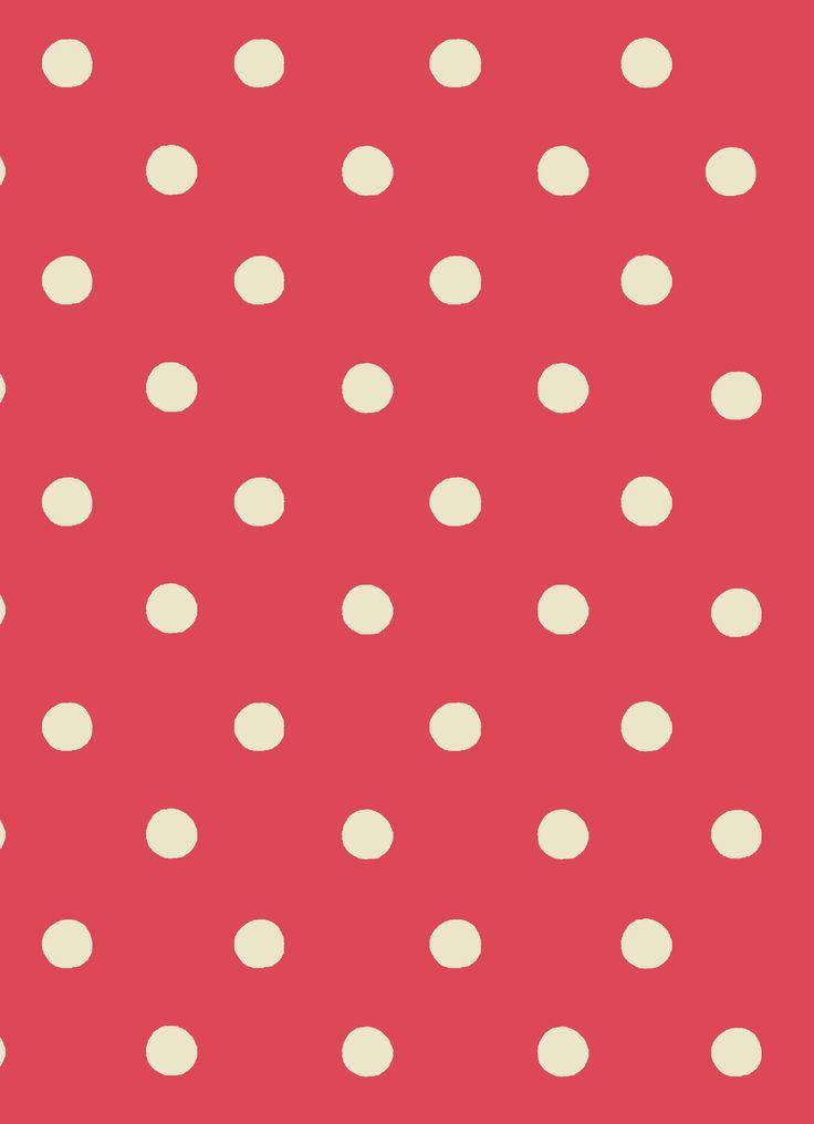 Spot Poppy Red | Cath Kidston classic polkadot print design