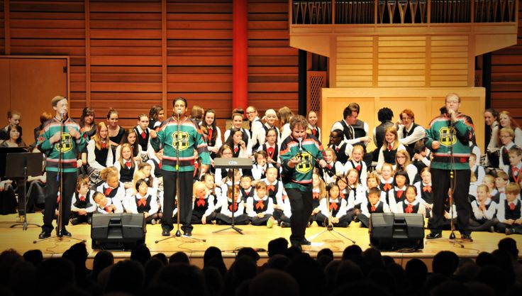 Calgary Children's Choir and The Heebee Jeebees at our Spring 2015 concert, 'Madrigals and More'!