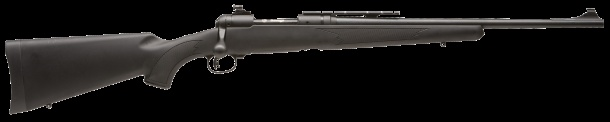 Savage Arm's 10 FCM Scout, their take on Col. Jeff Cooper's Scout Rifle concept: a light, short barreled, versatile rifle with forward-mounted optics and back up iron sights. Chambered in 7.62x51mm NATO aka .308 Win