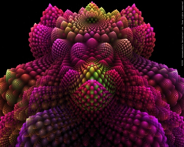 These fractals are designed using Apophysis, Photoshop and Paintshop pro etc.,