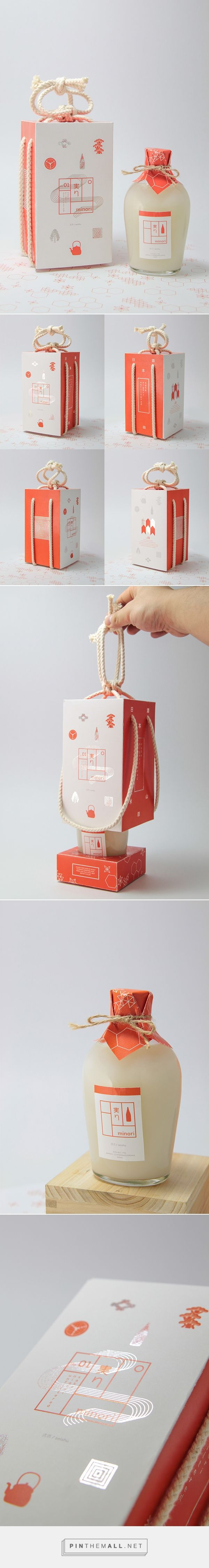Minori Sake Packaging  by Michael Nguyen on Behance | Fivestar Branding – Design and Branding Agency & Inspiration Gallery