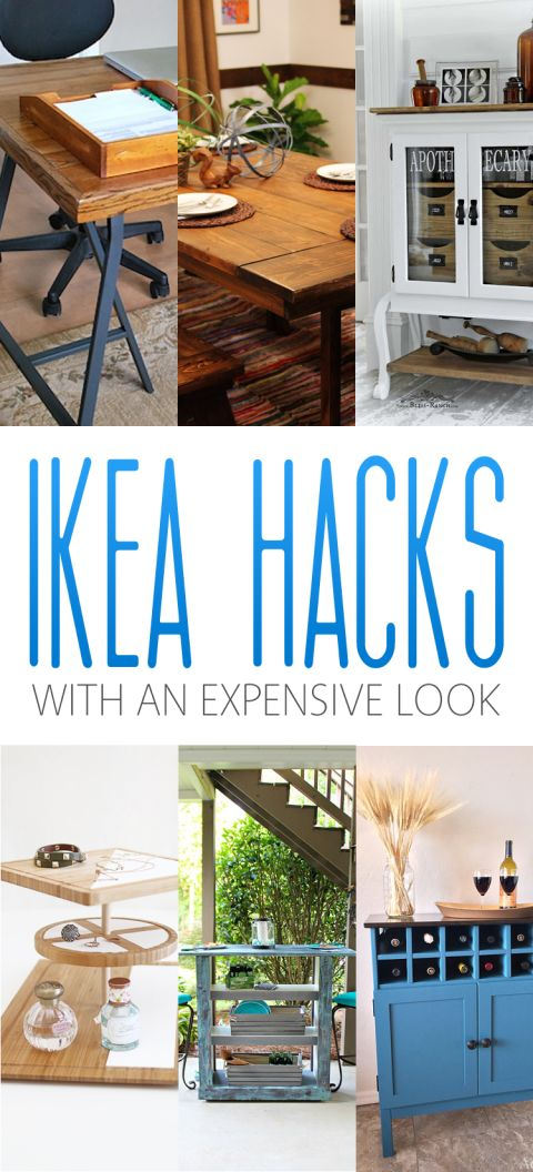 IKEA Hacks with an Expensive Look 2815