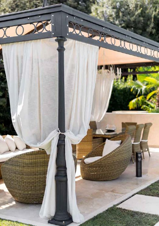 Gazebi Co Teloneria Vignolese Garavini Outdoor Gazebo