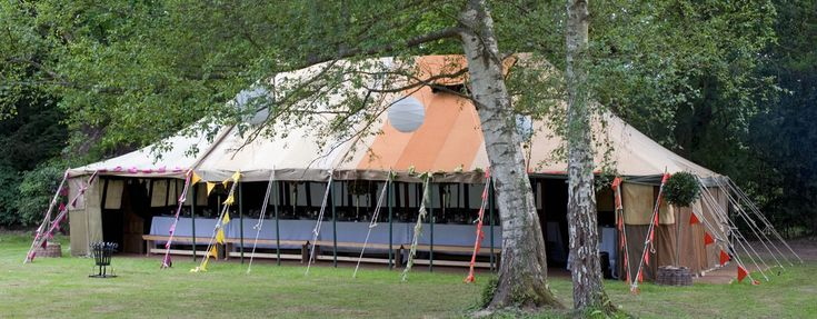 One of our gorgeous LPM Bohemia Vintage Military Tents.