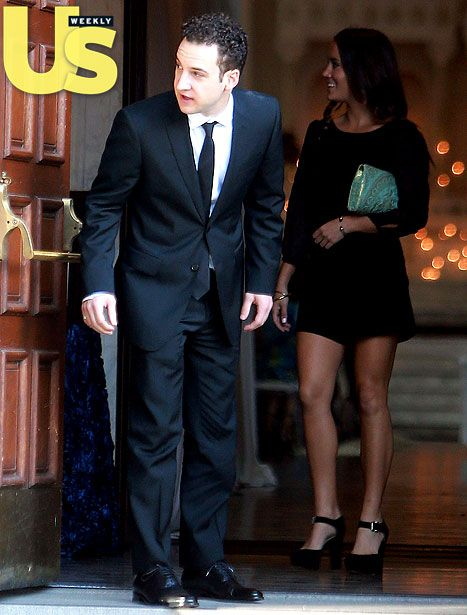 Danielle Fishel's Boy Meets World costar Ben Savage attended her wedding in downtown L.A. on Oct. 19