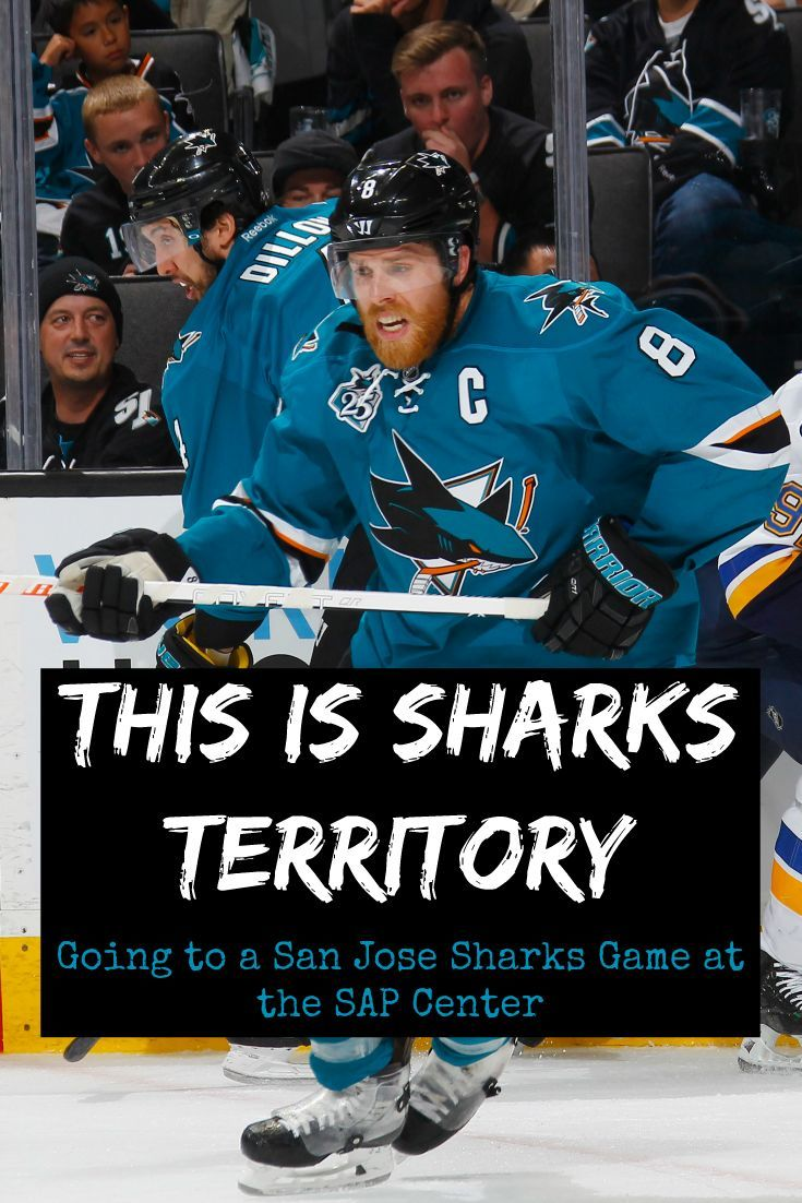 This is Sharks Territory : Tips for going to a San Jose Sharks Game at the SAP Center in Downtown San Jose. Northern California's only NHL hockey team is in the Stanley Cup finals this year! Find out more about the San Jose Sharks and their home arena, SAP Center.